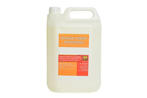 5ltr Heavy Duty Orange Degreaser