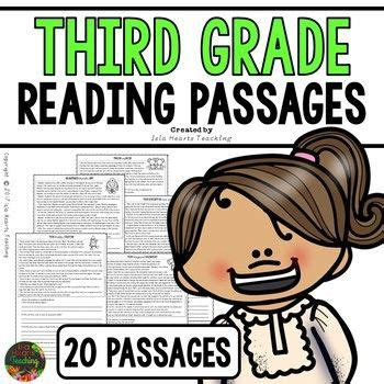 reading comprehension  grade reading passages