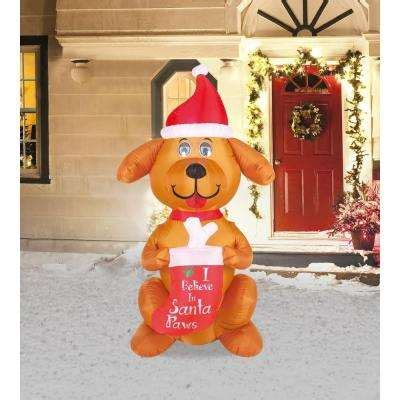 christmas inflatables outdoor christmas decorations