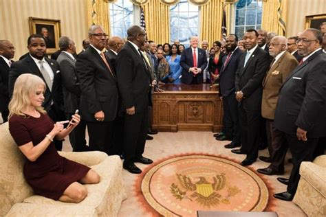forget kellyanne conways feet   couch trumps oval