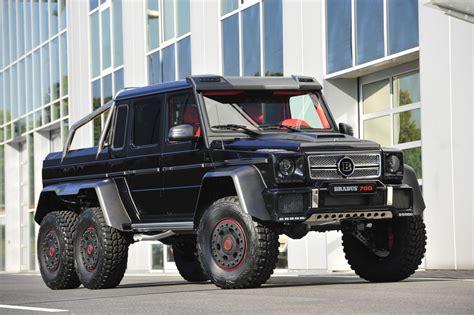 Tuners Brabus Mercedes G63 Amg 6x6 B63s 700 Brabus