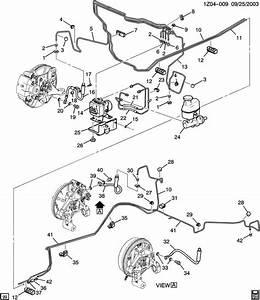 Pontiac G6 Pipe  Hydraulic Brake  Portfor  Vlvsecondaryhas