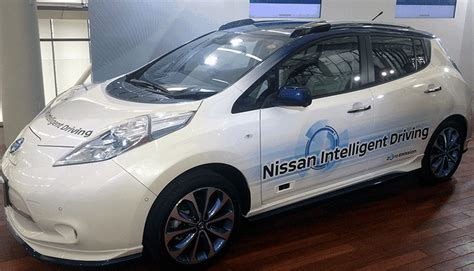 Nissan Driverless 2020 by Nissan Leaf Piloted Drive 1 0 Previews Driverless