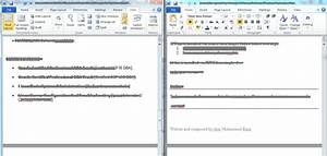 microsoft word 2010 view two documents side by side With word documents compare side by side