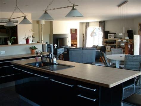 cuisine moderne avec ilot central grande cuisine avec ilot central tage maison moderne 4