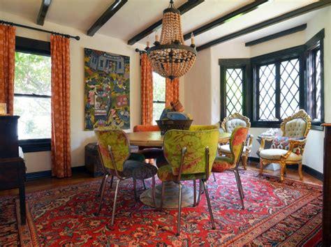 Bohemian Dining Room Designs Decorating Ideas