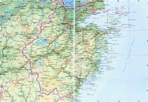 Zhejiang Province China Map