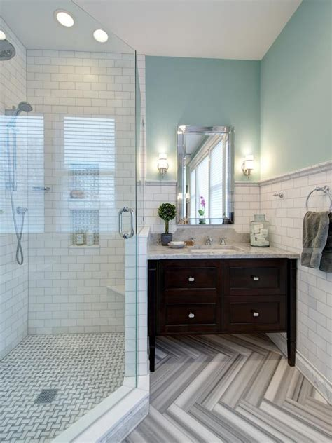 eclectic elegant black  white bathroom hgtv