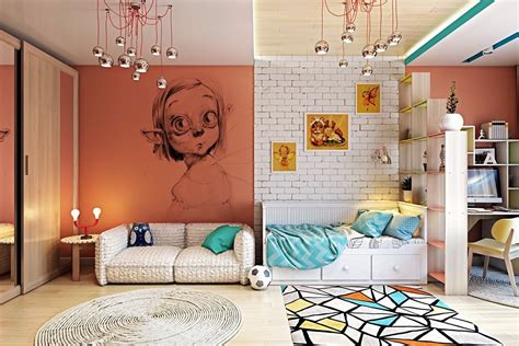 deco chambre loft 15 idées pour décorer les murs d 39 une chambre d 39 enfant