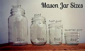 difference between pint and quart size mason jars - Google ...  Quart