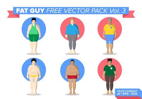 foto de Fat Guy Free Vector Pack Vol 3 Download Free Vectors