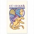 St. Mark the Evangelist Symbol: Holy Card