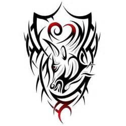 beautiful taurus tribal tattoos  tribal