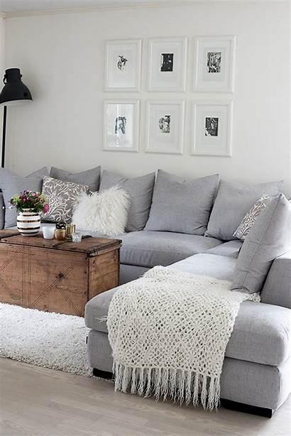 Living Grey Interior Decoration Designs