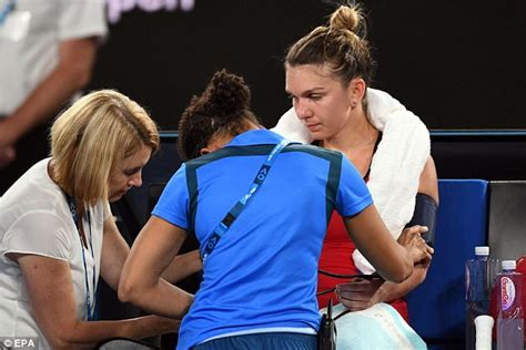 Australian Open 2018: Simona Halep reportedly hospitalised after losing to Caroline Wozniacki