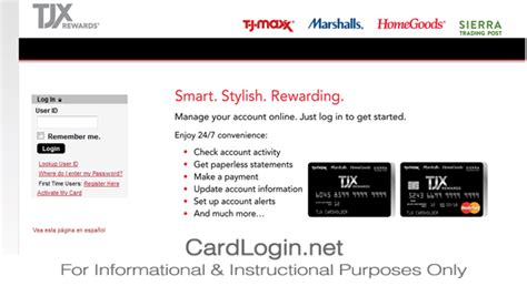 It requires to activate the tj maxx credit card before using it for any kind of payment. TJ Maxx   How to Login   How to Apply   Guide