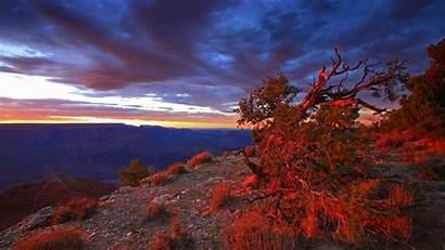 Canyon Sunset Sunrise Grand Arizona National Park