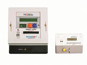 Prepayment Meter For Domestic Electricity Single Phase