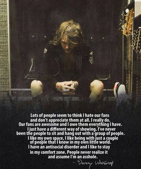 quotes by danny worsnop like quotes by danny worsnop like success