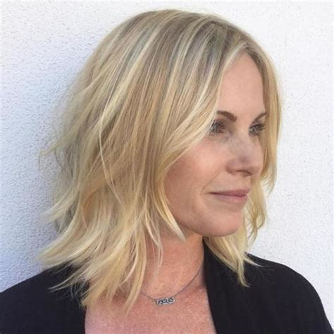 Easy medium length haircuts for women 2019