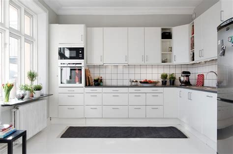 hygena cuisine 3d en trend beyaz mutfak modelleri decobaz
