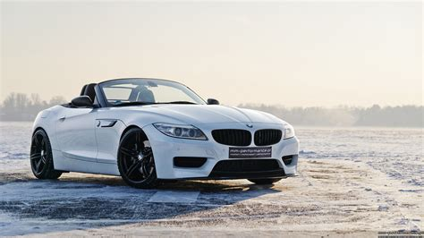 Mineral White Bmw Z4 Sdrive35is By Mm-performance.pl