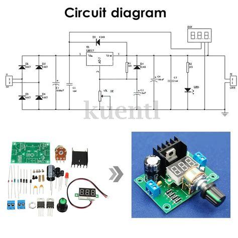kit fuente de voltage regulable variable con lm317 40vdc s 30 00 en mercado libre