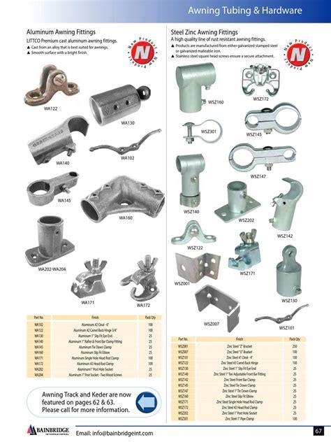 marine canvas awning fabrics hardware catalog  bainbridge international issuu