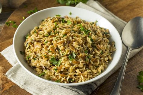 It's hard to find a cut of meat that's as pretty, as satisfying, and as delicious as a prime rib: Instant Pot Vegetarian Rice Pilaf   Recipe   How to cook quinoa, Rice pilaf, Vegetarian recipes easy