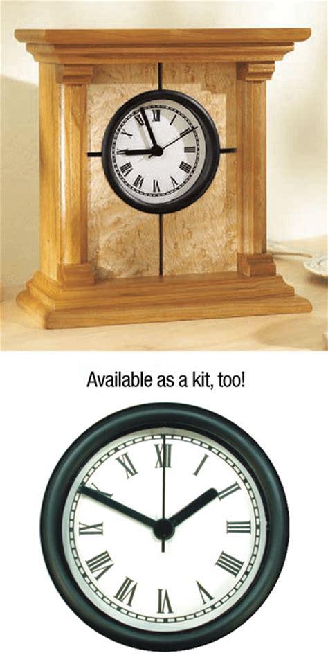 architectural clock plan woodworking plan  wood magazine