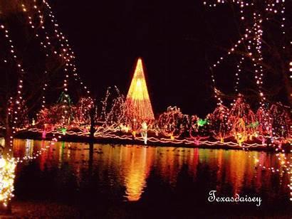 Lights Festival Christmas Chickasha Oklahoma Outside Displays