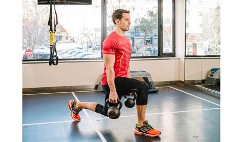 ejercicios zancada pesa kettlebells mejores sportlife posterior rusa