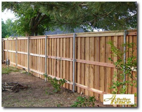 Decorative Privacy Fence With Full Trim