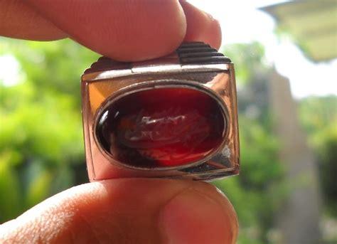 batu akik klawing 01 koleksi batu antik ym16 batu yaman merah asli dari