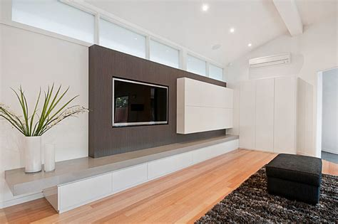 contemporary built in cabinets built in tv cabinets melbourne cabinets matttroy