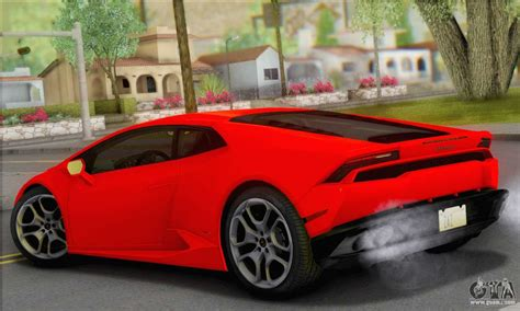 Lamborghini Huracan 2014 Type 2 For Gta San Andreas