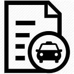 Icon Lease Icons Documents Document Contract Taxi