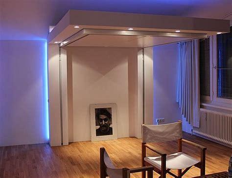 lit escamotable avec canapé lit escamotable plafond pour plus d espace en 17 idées top