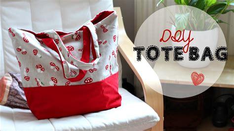 diy tote bag beginners sewing tutorial youtube