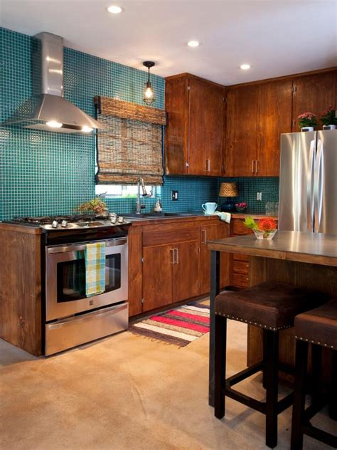 teal kitchen island photo page hgtv 2684