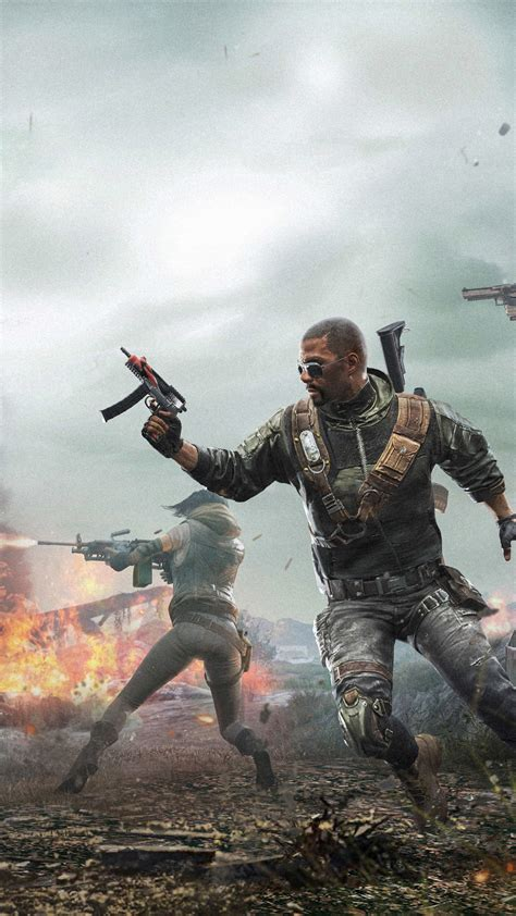 pubg squad war firing   ultra hd mobile wallpaper