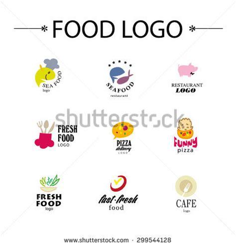 fast co design vector set restaurant logo design templates stock vector