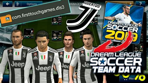 Download Juventus FC Team profile Data in Dream League ...