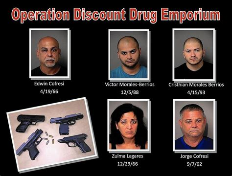 five arrested in major trafficking ring out of osceola county orlando sentinel