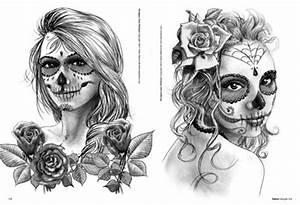 Tete De Mort Mexicaine Femme : femmes t te de mort ~ Melissatoandfro.com Idées de Décoration