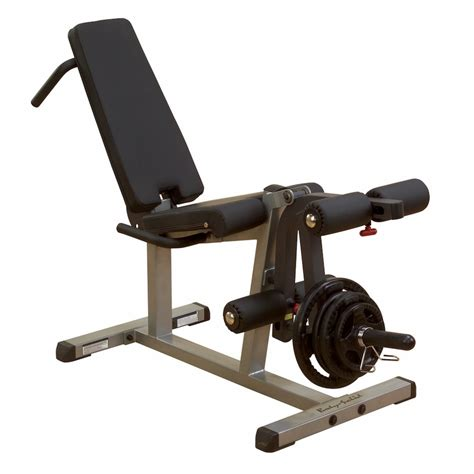 chaise musculation solid glce365 leg curl leg extension machine