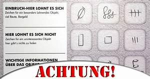 Gaunerzinken Was Tun : die codes der einbrecher mimikama ~ Watch28wear.com Haus und Dekorationen