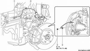 Service Manual  How To Remove Sensor Abs 1994 Mazda Protege