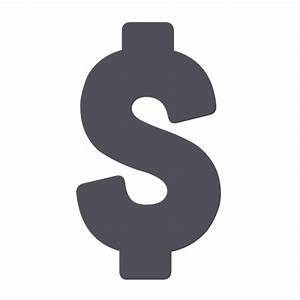 Dollar sign PNG