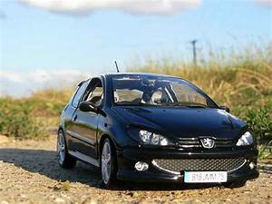 Peugeot 206 RC black evolution esquiss auto tuning Norev ...